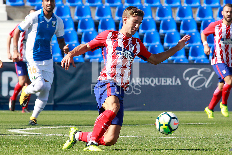 Atletico de Madrid's Luciano Vietto during friendly match. August 12,2017.  *** Local Caption *** &copy; pixathlon<br /> Contact: +49-40-22 63 02 60 , info@pixathlon.de