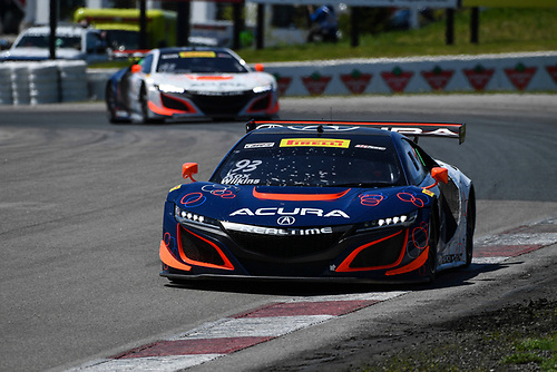 Pirelli World Challenge<br /> Victoria Day SpeedFest Weekend<br /> Canadian Tire Motorsport Park, Mosport, ON CAN Saturday 20 May 2017<br /> Peter Kox/ Mark Wilkins, Ryan Eversley/ Tom Dyer<br /> World Copyright: Richard Dole/LAT Images<br /> ref: Digital Image RD_CTMP_PWC17080