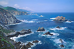 Pacific Ocean coastline at Big Sur, California, USA.