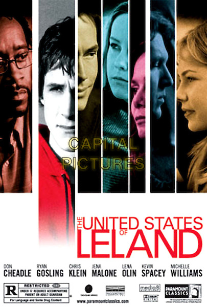 POSTER ART.in The United States Of Leland.Filmstill - Editorial Use Only.Ref: FB.sales@capitalpictures.com.www.capitalpictures.com.Supplied by Capital Pictures.