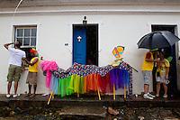 Tiradentes_MG, Brasil.<br /> <br /> Bloco Saia do Casulo no carnaval em Tiradentes, Minas Gerais.<br /> <br /> Saia do Casulo carnival band in Tiradentes, Minas Gerais.<br /> <br /> Foto: MARCUS DESIMONI / NITRO