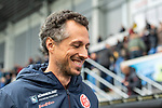 05.10.2019, Benteler Arena, Paderborn, GER, 1.FBL, SC Paderborn 07 vs 1. FSV Mainz 05<br /> <br /> DFL REGULATIONS PROHIBIT ANY USE OF PHOTOGRAPHS AS IMAGE SEQUENCES AND/OR QUASI-VIDEO.<br /> <br /> im Bild / picture shows<br /> Jan-Moritz Lichte (Co-Trainer 1. FSV Mainz 05), <br /> <br /> Foto © nordphoto / Ewert