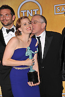 Amy Adams, Robert De Niro &amp; Bradley Cooper at the 20th Annual Screen Actors Guild Awards at the Shrine Auditorium.<br /> January 18, 2014  Los Angeles, CA<br /> Picture: Paul Smith / Featureflash