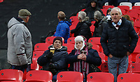 Burnley fans<br /> <br /> Photographer Rob Newell/CameraSport<br /> <br /> The Premier League - Tottenham Hotspur v Burnley - Saturday 15th December 2018 - Wembley Stadium - London<br /> <br /> World Copyright &copy; 2018 CameraSport. All rights reserved. 43 Linden Ave. Countesthorpe. Leicester. England. LE8 5PG - Tel: +44 (0) 116 277 4147 - admin@camerasport.com - www.camerasport.com