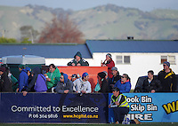 Fans watch the Wairarapa Bush premier club rugby final between Greytown and Eketahuna at Memorial Park, Masterton, New Zealand on Saturday, 3 August 2013. Photo: Dave Lintott / lintottphoto.co.nz