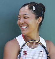 STANFORD, CA - April 9, 2011:  Kristie Ahn: Stanford, California on April 9, 2011.
