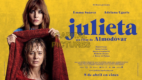 Julieta (2016) <br /> ORIGINAL SPANISH POSTER ART<br /> *Filmstill - Editorial Use Only*<br /> CAP/FB<br /> Image supplied by Capital Pictures