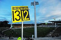 A general view before the Rugby Championship match between the NZ All Blacks and Argentina Pumas at Yarrow Stadium in New Plymouth, New Zealand on Saturday, 9 September 2017. Photo: Dave Lintott / lintottphoto.co.nz