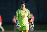 Seattle, WA - Saturday July 16, 2016: Katelyn Rowland during a regular season National Women's Soccer League (NWSL) match between the Seattle Reign FC and the Western New York Flash at Memorial Stadium.