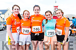 Taking part in the Valentia 5/10K run on Saturday were l-r; Ellie O'Connell, Ruth O'Shea, Mary Beth O'Donoghue, Caoimhe O'Shea & Clíodhne Guiney.