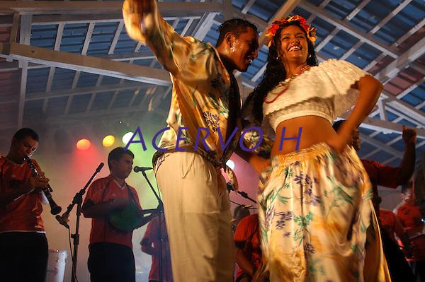 Carimb&oacute; durante o concurso Miss Cachoeira.<br /> Cachoeira do Arari, Par&aacute;, Brasil.<br /> 05/2006<br /> Foto Paulo Santos/Interfoto