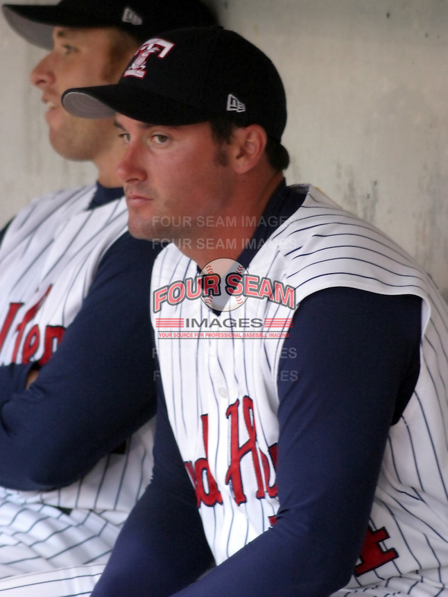 August 31, 2003:  Pitcher Terry Pearson of the Toledo Mudhens, Class-AAA affiliate of the Detroit Tigers, during a International League game at Fifth Third Field in Toledo, OH.  Photo by:  Mike Janes/Four Seam Images