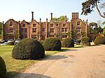Seckford Hall Tudor house built by Thomas Seckford, now a country hotel, near Woodbridge, Suffolk, England