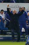 Claudio Ranieri manager of Leicester City celebrates the win - English Premier League - Leicester City vs Chelsea - King Power Stadium - Leicester - England - 14th December 2015 - Picture Simon Bellis/Sportimage