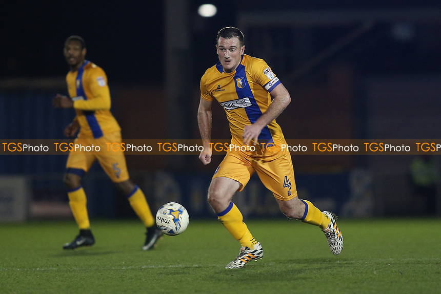 Lee Collins of Mansfield Town during Colchester United vs Mansfield Town, Sky Bet EFL League 2 Football at the Weston Homes Community Stadium on 14th March 2017