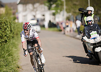 Michał Kwiatkowski (POL/SKY) trying to cross to the race leaders<br /> <br /> 54th Amstel Gold Race 2019 (1.UWT)<br /> One day race from Maastricht to Berg en Terblijt (NED/266km)<br /> <br /> ©kramon