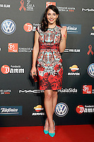 Actress Andrea Duro Barcelona 5th AIDS Ceremony. November 24,2014.(ALTERPHOTOS/Acero) /NortePhoto<br />