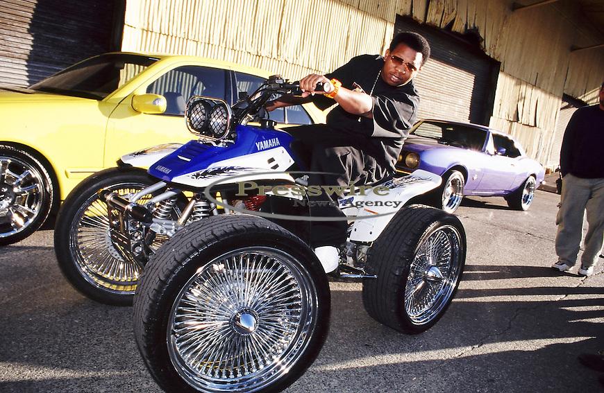 Super Producer Mannie Fresh aka Byron O. Thomas in New Orleans, Louisiana August 2000.  Photo credit: Presswire News/Elgin Edmonds