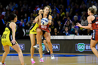 Tactix&rsquo; Charlotte Elley in action during the ANZ Premiership - Pulse v Tactix at TSB Arena, Wellington, New Zealand on Monday 14 May 2018.<br /> Photo by Masanori Udagawa. <br /> www.photowellington.photoshelter.com