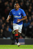 Alfredo Morelos of Rangers during Rangers vs Villarreal CF, UEFA Europa League Football at Ibrox Stadium on 29th November 2018
