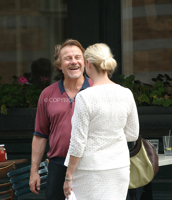 *** NO SALES TO NEW YORK DAILY PAPERS ***..Harvey Keitel spotted having lunch with friends at Bubby's on Hudson Street. New York, July 21, 2004. Please byline: JULIE STAPEN - ACEPIXS.COM.   .. *** ***  ..Ace Pictures, Inc  **  ..contact: Alecsey Boldeskul (646) 267-6913 **..Philip Vaughan (646) 769-0430 **..e-mail: info@acepixs.com