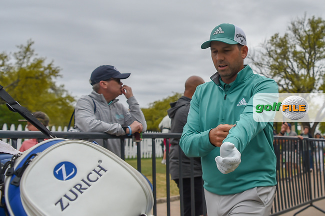 Sergio Garcia (ESP) heads down 10 during day 4 of the WGC Dell Match Play, at the Austin Country Club, Austin, Texas, USA. 3/30/2019.<br /> Picture: Golffile   Ken Murray<br /> <br /> <br /> All photo usage must carry mandatory copyright credit (© Golffile   Ken Murray)