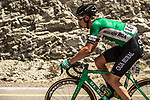 Nicholas Schultz (AUS) Caja Rural-Seguros RGA from the breakaway in action during Stage 5 of the 2018 Tour of Oman running 152km from Sam'il to Jabal Al Akhdhar. 17th February 2018.<br /> Picture: ASO/Muscat Municipality/Kare Dehlie Thorstad | Cyclefile<br /> <br /> <br /> All photos usage must carry mandatory copyright credit (&copy; Cyclefile | ASO/Muscat Municipality/Kare Dehlie Thorstad)