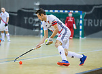 Almere - Zaalhockey  Amsterdam-Den Bosch (m)  Nicky Leijs (Adam)  . TopsportCentrum Almere.    COPYRIGHT KOEN SUYK