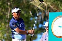 Thongchai Jaidee (THA) on the 2nd during the 1st round of the Abu Dhabi HSBC Championship, Abu Dhabi Golf Club, Abu Dhabi,  United Arab Emirates. 16/01/2020<br /> Picture: Fran Caffrey | Golffile<br /> <br /> <br /> All photo usage must carry mandatory copyright credit (© Golffile | Fran Caffrey)