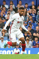 Lys Mousset of Sheffield United in action during Chelsea vs Sheffield United, Premier League Football at Stamford Bridge on 31st August 2019