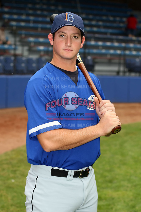 July 14th, 2007:  Robbie Widlansky of the Aberdeen Ironbirds, Class-A Short-Season affiliate of the Baltimore Orioles, poses for a photo before a game vs the Jamestown Jammers in New York-Penn League action.  Photo by: Mike Janes/Four Seam Images
