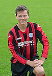 Paul Esslemont, St Johnstone FC...Season 2014-2015<br /> Picture by Graeme Hart.<br /> Copyright Perthshire Picture Agency<br /> Tel: 01738 623350  Mobile: 07990 594431
