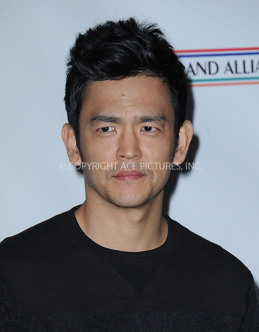 WWW.ACEPIXS.COM<br /> <br /> February 19 2015, LA<br /> <br /> John Cho arriving at the US-Ireland Alliance Pre-Academy Awards event at Bad Robot on February 19, 2015 in Santa Monica, California. <br /> <br /> <br /> By Line: Peter West/ACE Pictures<br /> <br /> <br /> ACE Pictures, Inc.<br /> tel: 646 769 0430<br /> Email: info@acepixs.com<br /> www.acepixs.com