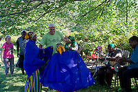 Dancing at Intervale farm, Somali Bantu harvest festival, New Gloucester Maine