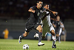06 September 2008: Clint Dempsey (USA) (8) and Luis Villegas (CUB) (7) challenge for the ball. The United States Men's National Team defeated the Cuba Men's National Team 1-0 at Estadio Nacional de Futbol Pedro Marrero in Havana, Cuba in a CONCACAF semifinal round FIFA 2010 South Africa World Cup Qualifier.