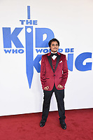 "Dean Chaumoo<br /> arriving for the premiere of ""The Kiid who would be King"" at the Odeon Luxe cinema, Leicester Square, London<br /> <br /> ©Ash Knotek  D3476  03/02/2019"