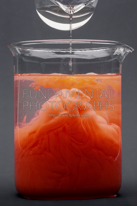 CONSERVATION OF MASS LAW- sequence<br /> Precipitation Of Mercuric Iodide<br /> Solutions of HgNO3 (mercuric nitrate) and KI (potassium iodide) are mixed resulting in a red precipitate of HgI2 (mercuric iodide).