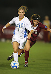 07 December 2007: UCLA's Lauren Cheney (8) and USC's Kasey Johnson (13). The University of Southern California Trojans defeated the University of California Los Angeles Bruins 2-1 at the Aggie Soccer Stadium in College Station, Texas in a NCAA Division I Womens College Cup semifinal game.