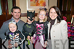 Ballybunion Halloween Disco: Attending the Ballybunion Halloween Children's Disco organised by the Ballybunion Tidy Towns  Committeein The Cliff House Hotel on Sunday evening last were The Stack family from Ballydonoghue, Owen,  Luke , Jessica And Austin & Dolores.