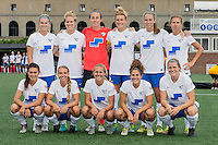 Allston, MA - Sunday July 31, 2016: Boston Breakers starting eleven prior to a regular season National Women's Soccer League (NWSL) match between the Boston Breakers and the Orlando Pride at Jordan Field.