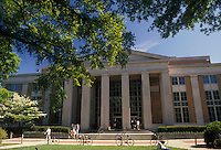 AJ2122, university, Georgia, Athens, The Little Memorial Library on the University of Georgia campus.