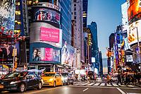 NOVA YORK, EUA 25.12.2018 - TIMES-SQUARE - Movimentação na Times Square nesta terça-feira, 25. (Foto: Vanessa Carvalho/Brazil Photo Press)
