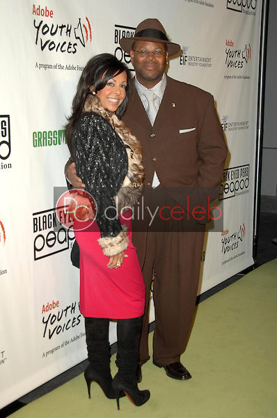Jimmy Jam and wife Lisa<br />at the 5th Annual Black Eyed Peas Peapod Foundation Benefit Concert. The Conga Room, Los Angeles, CA. 02-05-09<br />Dave Edwards/DailyCeleb.com 818-249-4998