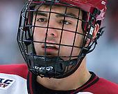 Marshall Everson (Harvard - 21) - The Harvard University Crimson defeated the University of New Hampshire Wildcats 7-6 on Tuesday, November 22, 2011, at Bright Hockey Center in Cambridge, Massachusetts.