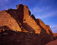 """Sun Setting on Pueblo Bonito""<br />