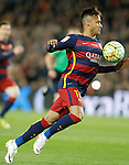 FC Barcelona's Neymar Jr during La Liga match. April 2,2016. (ALTERPHOTOS/Acero)