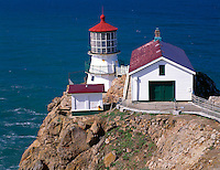 Point Reyes National Seashore, CA<br /> Point Reyes Lighthouse (1870)