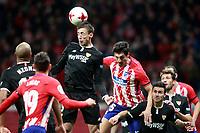 ATLETICO DE MADRID v SEVILLA FC. LA COPA 2017/2018. QUARTER FINALS. 1ST LEG.