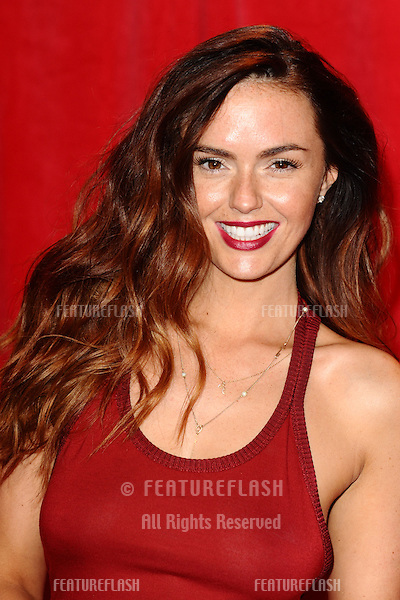Jennifer Metcalfe arriving for the 2014 British Soap Awards, at the Hackney Empire, London. 24/05/2014 Picture by: Steve Vas / Featureflash