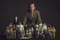 Isle of Dogs (2018) <br /> Behind the scenes photo of Wes Anderson  <br /> *Filmstill - Editorial Use Only*<br /> CAP/MFS<br /> Image supplied by Capital Pictures